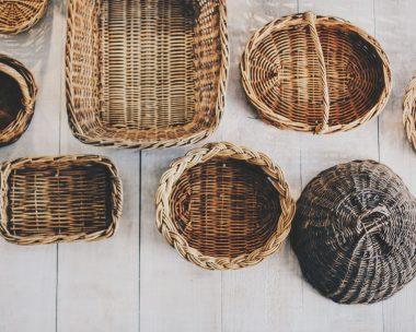 Yarn Easter Basket Craft Project – Easter Bunny Basket Craft